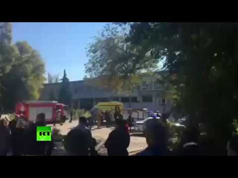 First video from Crimea blast site