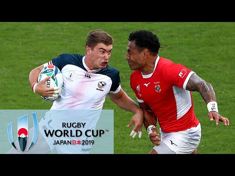 Rugby World Cup 2019: Tonga vs. USA | EXTENDED HIGHLIGHTS | 10/13/19 | NBC Sports