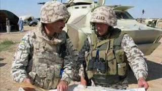 Ukrainian Soldiers in Iraq