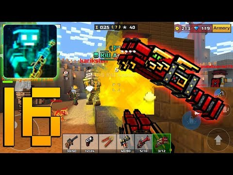 Pixel Gun 3D - Gameplay Walkthrough Part 16 - Double Dragon