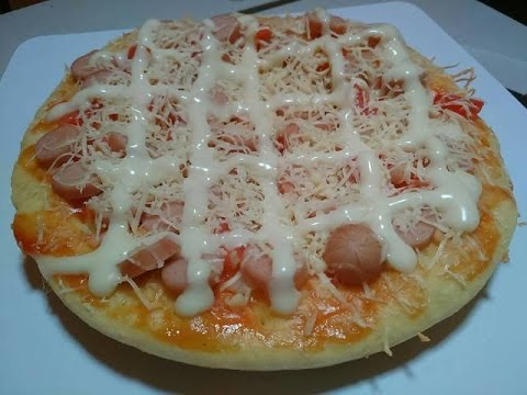 Video Resep Pizza Teflon Simple Tanpa Oven