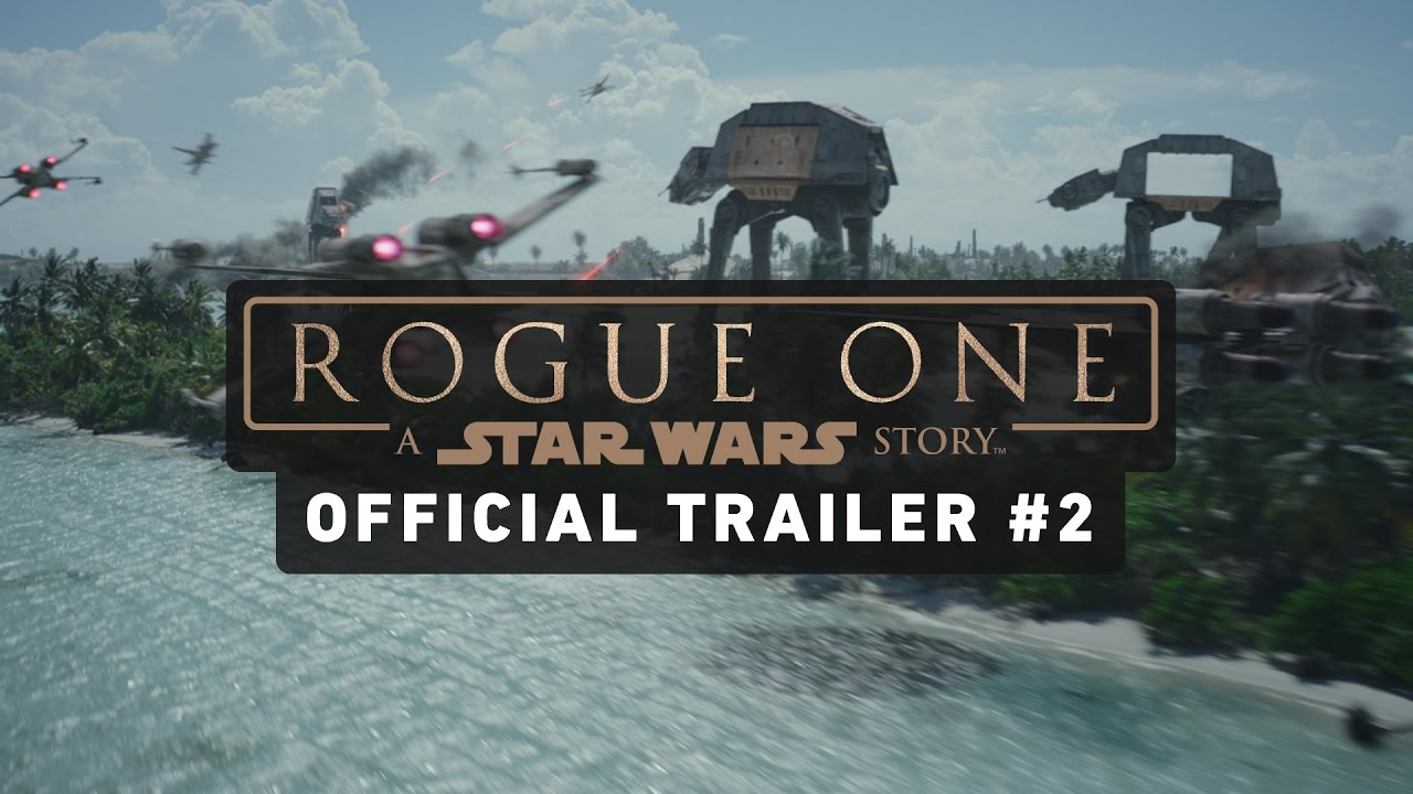 Movie Trailer: Rogue One: A Star Wars Story (2016)