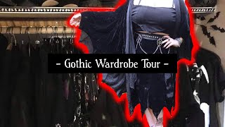 Wardrobe Tour - 100+ Gothic Dresses, Skirts And Jumpers (Killstar, Necessary Evil, Dark In Love)