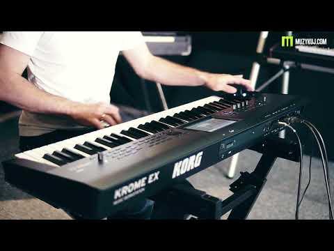 KORG KROME EX Piano EX DARK PIANO