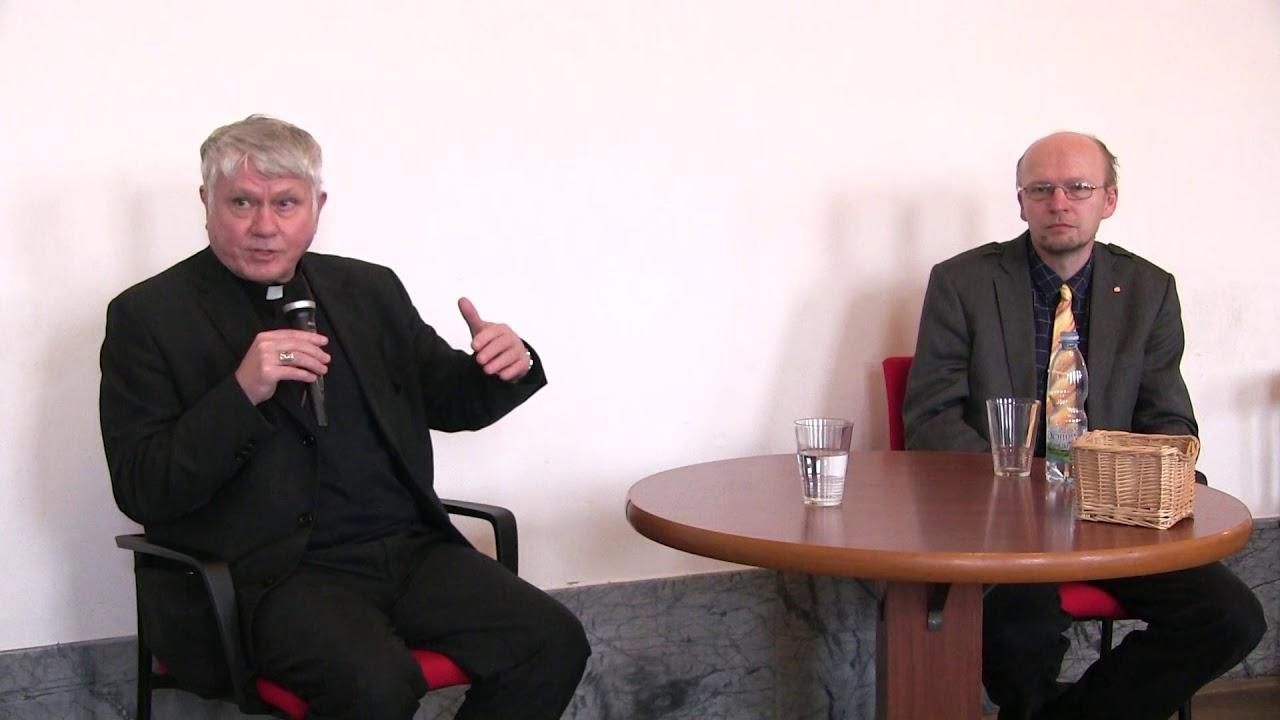 Diskuse s pražským biskupem Václavem Malým