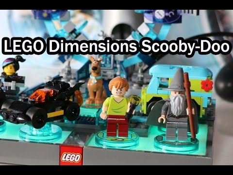 Vidéo LEGO Dimensions 71206 : Pack Equipe : Scooby-Doo