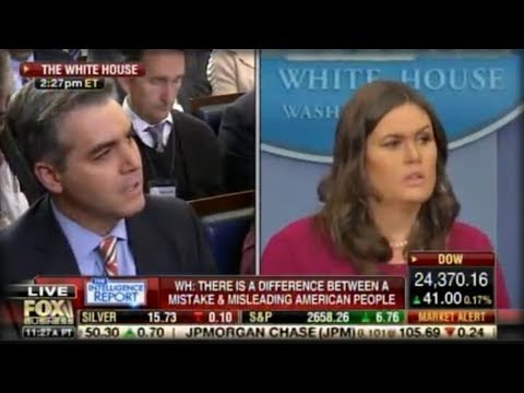 HAMMER TIME! WATCH SARAH SANDERS GO NUCLEAR ON JIM ACOSTA SENDING HIM SCURRYING LIKE A COCKROACH!