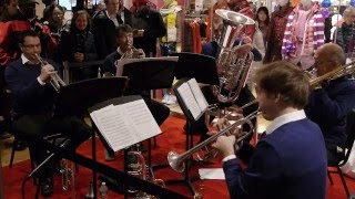 New York Philharmonic Principal Brass Quintet at UNIQLO 5th Ave Flagship Store