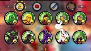 LEGO Ninjago: Shadow of Ronin - All Characters & Red Bricks Unlocked - 100% Complete