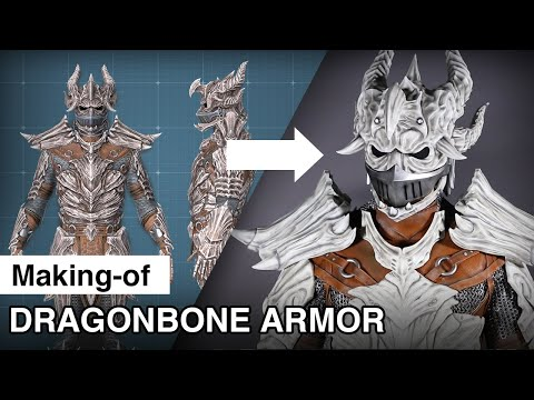 Dragonbone Armor Making-of - The Elder Scrolls Online Elsweyr Cosplay