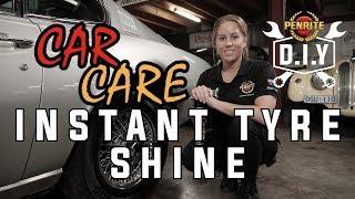 DIY Car Care - Instant Tyre Shine