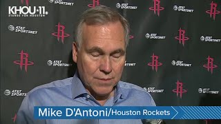 'You don't have to be a basketball fan' | Rockets react to Kobe Bryant's death