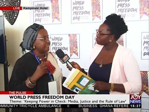 World Press Freedom Day - The Pulse on Joy News (2-5-18)