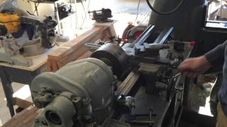 Learning how to run a South Bend Heavy 10 Lathe