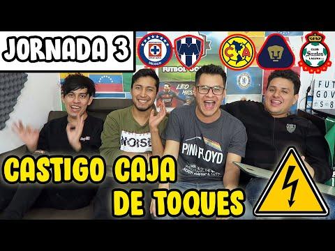PRONÓSTICOS JORNADA 3 LIGA MX   CASTIGO ELÉCTRICO