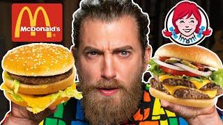 McDonald's vs. Wendy's Taste Test   FOOD FEUDS