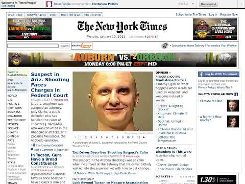 One Year Of The New York Times As Told By 12,000 Screenshots