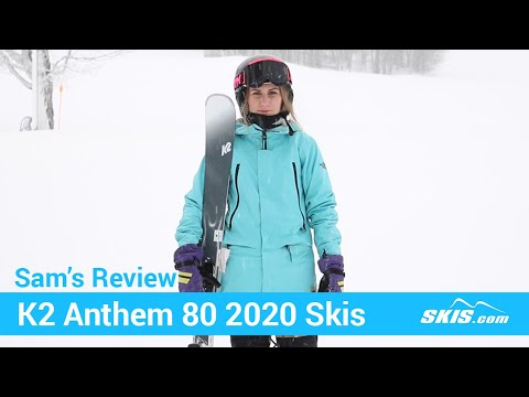 Video: K2 Anthem 80 Skis 2020 17 40