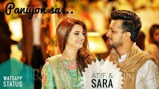 Paniyon sa | Short clip | Atif Aslam & Sara bharwana |