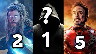 Top 10 Most Powerful Avengers In MCU [Explained In Hindi] | SuperHero Talks