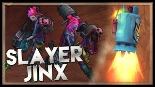League of legends Slayer Jinx Gameplay