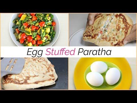 CRISPY EGG PARATHA – Easy Breakfast Recipe | CookWithNisha