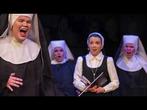 "Singing ""The Life I Never Led"" from the musical ""Sister Act"""