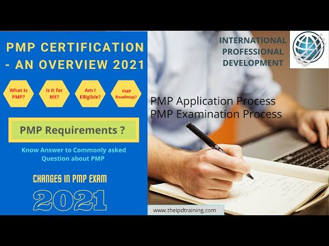 PMP Certification - An Overview 2021 - YouTube