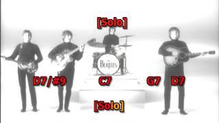 You Can't Do That Beatles best karaoke instrumental lyrics chords