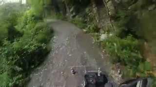 preview picture of video 'Strada per Pentema (Torriglia)'