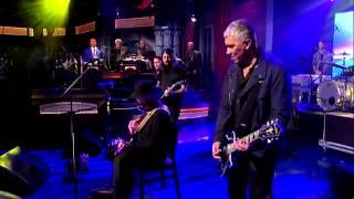 Foo Fighters with Tony Joe White  'Polk Salad Annie'   David Letterman