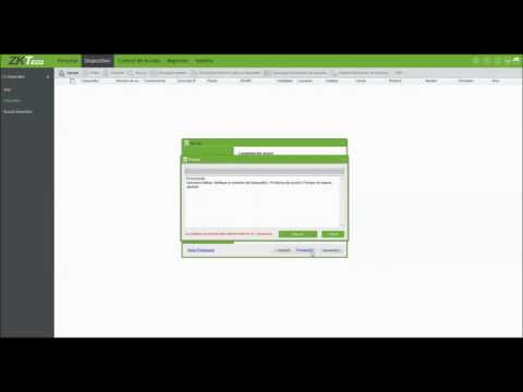 ZKACCESS3.5 Agregar dispositivo y cambiar dirección IP