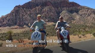 Red Rock Scooter Tours - Ride Through the Red Rock Canyon on a scooter tour