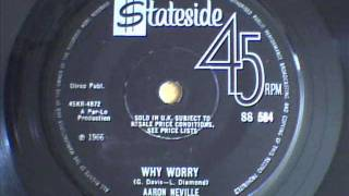 AARON NEVILLE - WHY WORRY & TELL IT LIKE IT IS