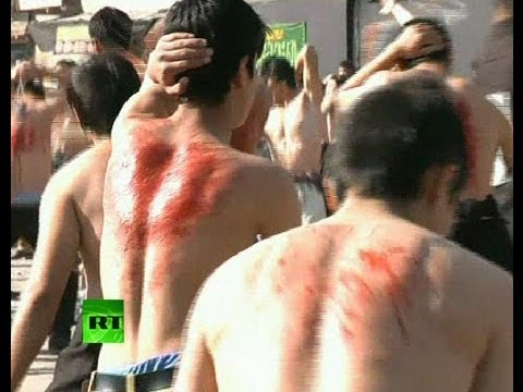 Graphic Video: Shiites Whip Themselves Bloody In Afghanistan Mp3