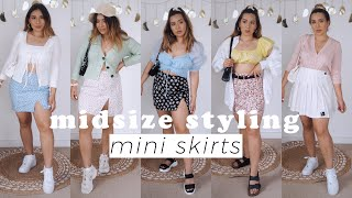 How To Style Mini Skirts For Summer 2020   Midsize Styling Tips