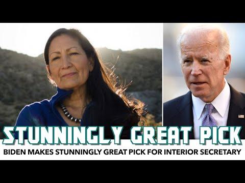 Biden Makes Stunningly Great Pick For Interior Secretary