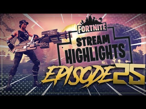 YELO THE CLUTCH, INSANE PLAYS! Stream Highlights Ep. 25 - Fortnite Battle Royale