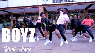 Yemi Alade - BOYZ (Official Dance Video)   Roy Demore Choreography   Dance Republic Africa