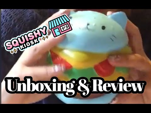 Unboxing & Review of my Giveaway Squishies I Won | Squishy Kiosk