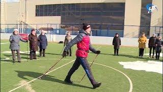 В Великом Новгороде прошёл первый региональный семинар по скандинавской ходьбе