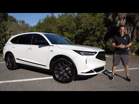 Is the ALL NEW 2022 Acura MDX A-Spec the BEST sport luxury SUV to BUY?