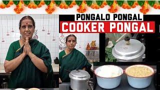 How to make cooker pongal/ Cooker Pongal/ sweet pongal/sarkkarai Pongal recipe by Revathy Shanmugam