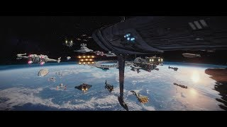 Download Video (Re-Upload) Rogue One: A Star Wars Story -  Space & Aerial Battle of Scarif Supercut HD MP3 3GP MP4