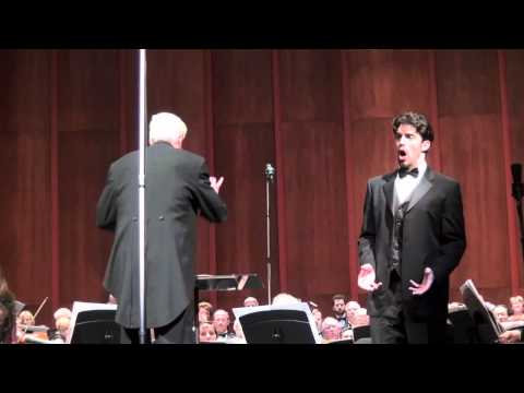 "Alex Lawrence, baritone, sings ""It Is Enough!"" from Mendelssohn's Elijah"