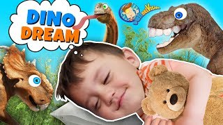 DINOSAURS COME ALIVE in his DREAMS! (Shawn goes to Dino Land)