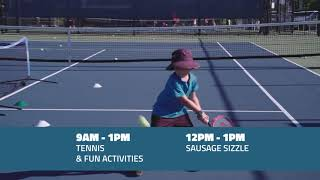 Tennis Rockhampton Open Day 2