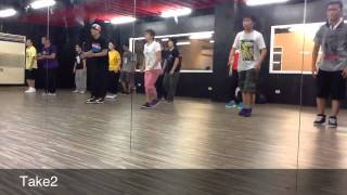 2012/08/26 Locking Class @ Chic-Jusagroove  by A-Lung