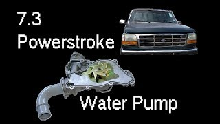 7.3 Powerstroke Water Pump Replacement