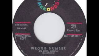 Aaron Neville - Wrong Number (I'm Sorry, Goodbye)